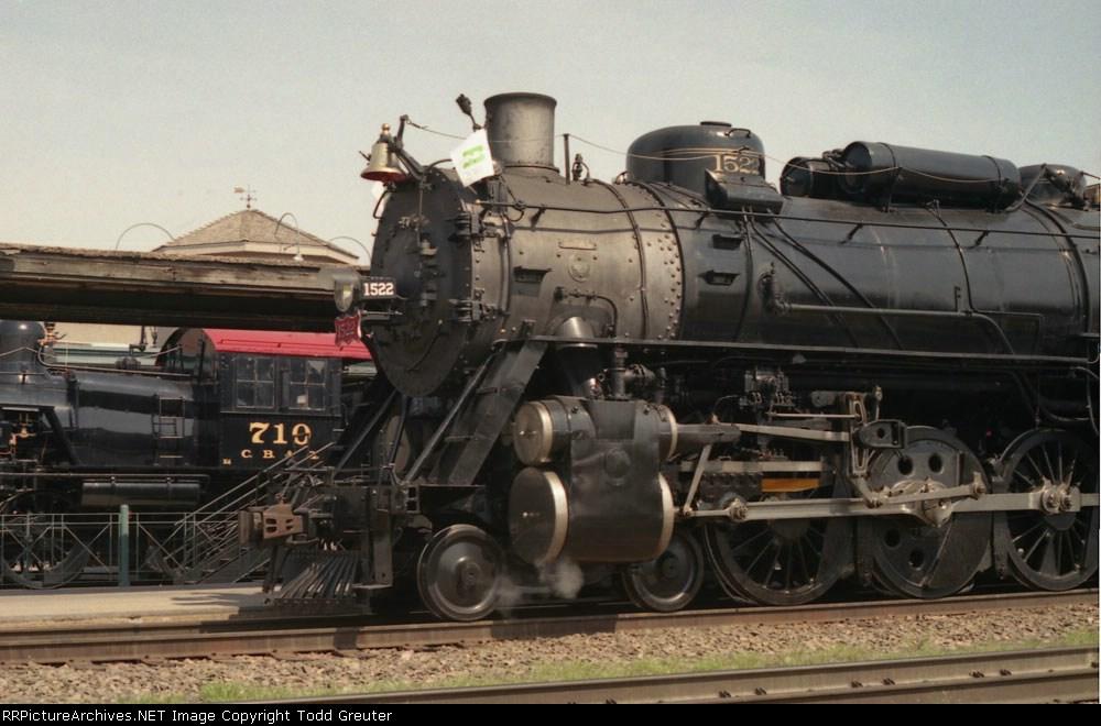 SLSF 1522 at Lincoln Station.